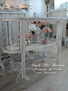 Brocante Simply Chic Living: Teatime...... Let Spring begin!