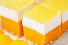 Polish Desserts, Polish Recipes, No Bake Desserts, Sweet Recipes, Cake Recipes, Croatian Recipes, Sweets Cake, Recipes From Heaven, Plated Desserts