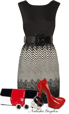 """Belted Dress"" by natasha-gayden ❤ liked on Polyvore"