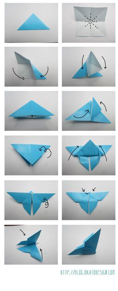 DIY & Crafts: Origami's Butterfly: