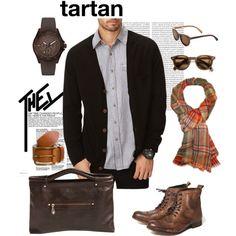 """TARTAN"" by monsieurcharli on Polyvore"
