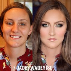 """@jadeywadey180's photo: """"Fierce Bridesmaid GlamourMatte contour with a hint of dewy highlight 