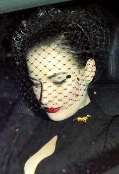 The Unintentional Art in Celebrity Candids: Dita von Teese