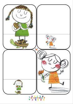 Le monstre des émotions va à l'école : Jeu petit-moyen-grand et jeu petit-grand | MC en maternelle