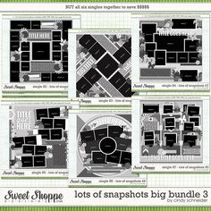 Cindy Layered Templates - Lots of Snapshots Big Bundle 3 by Cindy Schneider