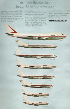 Boeing family in the 70's
