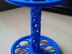 Majacraft Bobbin - Lacy Raindrops by Krytes42 - Thingiverse. BOBBIN FOR MY WHEEL, THIS IS AWESOME.