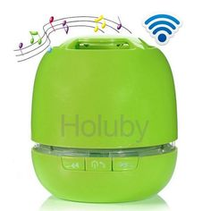 My Vision T6 Wireless Mini Portable Bluetooth Speaker Support Handsfree Calling & TF Card - Green