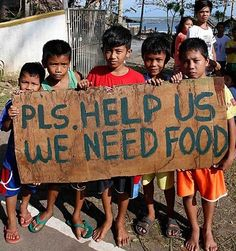 The world is hungry - Philippines following Typhoon Hagupit - Did America's Capitalism 'help' this country they 'conquered' from Spain in war? Compare the extreme poverty of all third-world countries the US dominates (where you usually find extreme poverty, overpopulation, & crime)  - w/ Cuba, which escaped the US (now 100% literate w/ world class education & healthcare): http://www.worldnomads.com/travel-safety/Philippines/Crime-in-the-Philippines