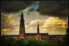 Uppsala Cathedral I Uppsala, Beautiful Buildings, Cathedrals, Temples, Stockholm, Castles, Sweden, Gothic, Photography
