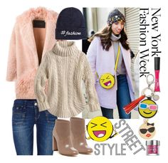 """""""Day Two The Best NYFW Street Style"""" by westcoastcharmed ❤ liked on Polyvore featuring BLANCHA, ONLY, Kate Spade, Rebecca Minkoff, Calvin Klein, L'Oréal Paris, Urban Decay, women's clothing, women and female"""