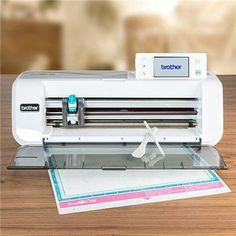 Brother ScanNCut with Giveaway Bundle and Brother ScanNCut Tattered Lace USB - Flowers and Foliage Create And Craft Tv, Crafts To Make, Brother Scanncut Cm300, Scan N Cut Projects, Silhouette Portrait, Brother Scan And Cut, Cardmaking, Scrapbooking, Origami