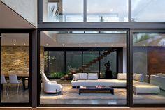 Luxury Vila Madalena with Smooth Indoor Decor grey tiles clad floors