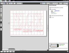 A Silhouette machine tutorial!
