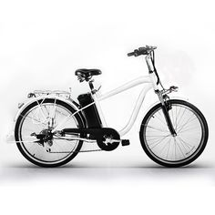"""Nakto 26"""" 250W Electric Bicycle Sporting Powered 6 speed e-Bike 36V Lithium Battery Aadult/Young Adult-Men (White). Easy shift 6 speed SHIMANO gear set and Charger UL Approved, we have US warehouse and fast delivery (3-5days). Allows for plenty of saddle height adjustment to suit the rider and is fitted with a quick-release. Low-Carbon Environmental Protection: Fresh electric car: an electric car, to meet different needs, go out transport, leisure and entertainment, relax, low-carbon..."""