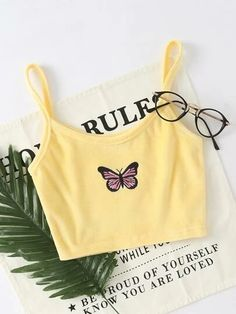 Cute Lazy Outfits, Crop Top Outfits, Girly Outfits, Pretty Outfits, Girls Fashion Clothes, Teen Fashion Outfits, Outfits For Teens, Fashion Fashion, Bershka Collection