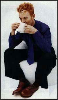 tea time with David Bowie
