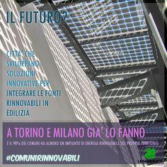 (26/03/2013) Il futuro dell'energia sta nella capacità di trovare soluzioni innovative per integrare sempre di più le fonti rinnovabili nell'edilizia. Un futuro che in molte città è già realtà.  http://www.legambiente.it/contenuti/dossier/comuni-rinnovabili-2013-cresce-lenergia-verde