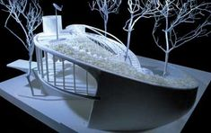 ushida findlay partnership house for the third millenium Maquette Architecture, Lego Architecture, Concept Architecture, Futuristic Architecture, Landscape Architecture, Bubble Diagram Architecture, Architecture Organique, Kindergarten Design, Landscape Model
