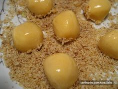 Recepti i kuhinja Czech Recipes, Desert Recipes, Amazing Cakes, Biscuits, Eggs, Cookies, Baking, Breakfast, Sweet