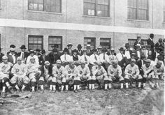 "Cincinnati ""Reds"" in training at Stetson University ball park (1923).   Florida Memory"