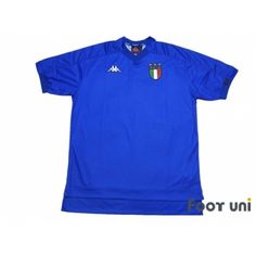 Photo1: Italy 1999 Home Shirt w/tags - Football Shirts,Soccer Jerseys,Vintage Classic Retro - Online Store From Footuni Japan