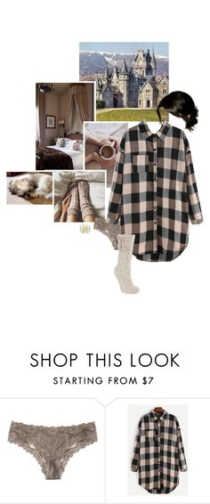 """""""Untitled #2299"""" by duchessq ❤ liked on Polyvore featuring H&M and John Lewis"""