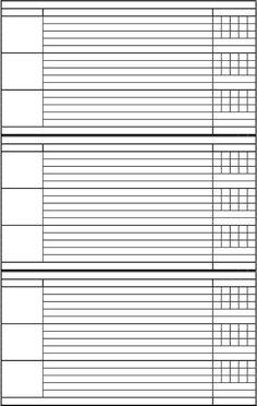 Evaluación de Voleyball 2012