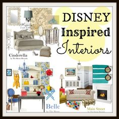 Disney Home Collection: Disney Inspired Interiors; this will be what my house looks like! Disney Bedrooms, Disney Home Decor, Room Themes, Inspired Homes, My New Room, Disney Inspired, Home Collections, Decoration, My Dream Home