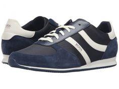 BOSS Hugo Boss Orland Runn by BOSS Orange (Navy) Men's Shoes