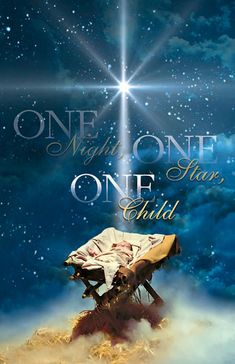 Church Bulletin 14 - Christmas - One Night (Pack of Back Product Description Bulletin Text One Night, One Star, One Child