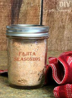 Easy DIY Fajita Seasoning