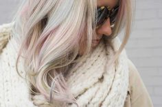 Doesn't A Subtle Rainbow In Your Hair Sound Like The Best Thing Ever? (It Is!). If you've always wanted pastel hair but can't commit to a full head of it, Davines Mother of Pearl is the answer.