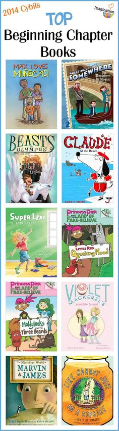 When kids start transitioning to chapter books, they need good easy chapter books. Here are ten books from 2014 that  your kids will love!