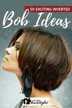 Are you considering getting an inverted bob? Well, you have come to the right place to find inspiration. Here in this article, we will go over 50 exciting inverted bob ideas to consider trying this year. Casual Hairstyles For Long Hair, Lazy Day Hairstyles, Face Shape Hairstyles, Hairstyles For School, Short Hairstyles For Women, Inverted Bob, Shoulder Length Hair, Hair Health, Hair Day