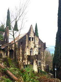 Gagra Abkhazia Гагра Абхазия Замок castle