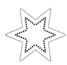 molde estrela de natal - Pesquisa do Google