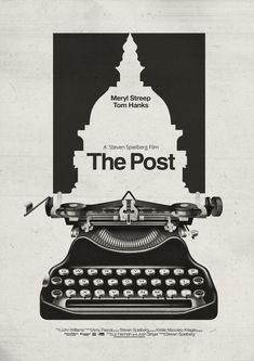 The Post – PosterSpy Illustrations And Posters, Animated Movies, Minimalist Poster, Movie Artwork, Typography Poster, Best Movie Posters