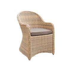Cozy Bay® Sicilia Rattan Outdoor Garden Arm Chair
