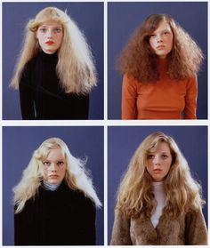 cotonblanc: class of 1998 (1998)photography by anuschka blommers & niels schumm for self service #hair #beauty