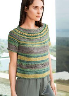 Lana Grossa PULLOVER Linarte Color - FILATI CLASSICI No. 12 - Modell 13 | FILATI.cc WebShop