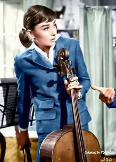 Audrey Hepburn in ''Love in the Afternoon'' (1957)