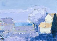 """ Nicolas de Staël, Mediterranean Landscape, 1953 """