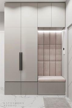 Wardrobe Door Designs, Wardrobe Design Bedroom, Room Partition Designs, Hallway Designs, Home Room Design, Home Interior Design, House Design, Entry Closet Organization, Entrance Hall Decor