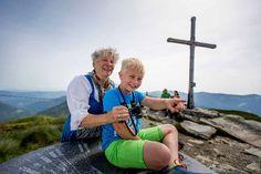 Am Gipfel der Frauenalpe angekommen (c) Ikarus  #kreischberg Berg, Portal, Tourism, Vacations