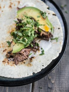 This birria recipe from Riding Shotgun LA's Roy Choi is easy to make. Traditionally with goat it can also be made with beef.