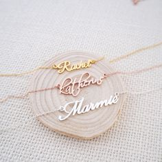 Carrie Name Necklace,Personalized Name Necklace, Gold Name ...