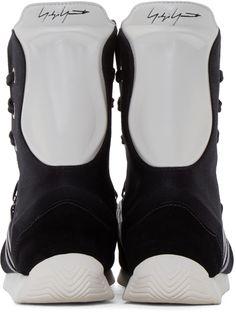 Yohji Yamamoto Black adidas by Yohji Yamamoto Boxing Sneakers