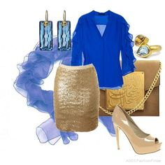 Blue and Gold great combos!