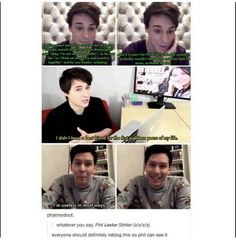 Philly gave life to danisnotonfire, I mean Daniel Howell, he isn't useless. He is a life saver!